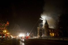 Fire destroys Provo Tabernacle on Dec. 17, 2010. From the ashes, the Provo City Center Temple has been constructed.