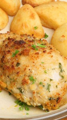 Weight Watchers Melt in Your Mouth Baked Garlic Parmesan Chicken Recipe - 7 SmartPoints