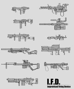 ArtStation - I.F.D.s concept, Lei Zhang