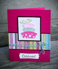 Topsy-Turvy Cake by stephanie.hargis - Cards and Paper Crafts at Splitcoaststampers
