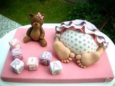 #babygirl #showercake