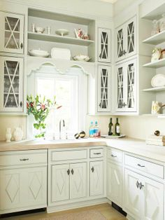 Color of cabinets