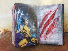 crea2moa: Journal Art : Wolverine