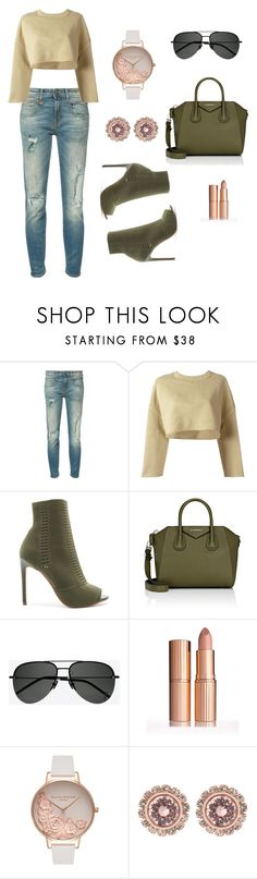 """""""my denim style"""" by tato-eleni ❤ liked on Polyvore featuring R13, adidas Originals, Steve Madden, Givenchy, Yves Saint Laurent, Olivia Burton and Ted Baker"""