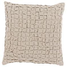 Surya Diana Pale Gray Decorative Pillow  @LaylaGrayce