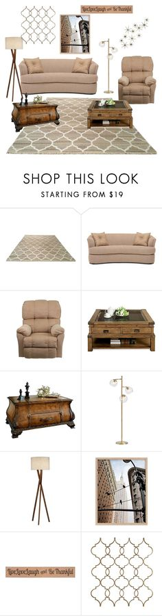 """beige home"" by idc-id-b-diff ❤ liked on Polyvore featuring interior, interiors, interior design, home, home decor, interior decorating, DutchCrafters, Flash Furniture, Butler Specialty Company and PBteen"