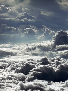 clouds above the clouds