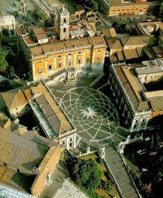Urban Networks: Escenografías trascendentales: el caso de la Plaza del Campidoglio de Roma.