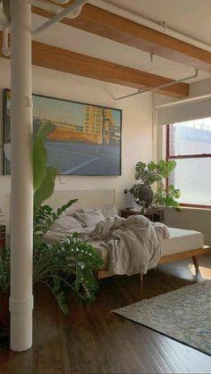 Room Design Bedroom, Room Ideas Bedroom, Bedroom Decor, Nature Bedroom, Bedroom Inspo, Dream Rooms, Dream Bedroom, Pretty Room, Aesthetic Room Decor