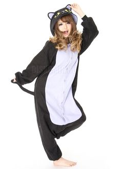 Heres the black cat kigurumi onesie. I can totally see myself lounging in  this. cf226ed9dc673