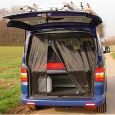 This is a sliding door mosquito net for T4 tailgate. It has a fine-mesh offering excellent protection from mosquitoes and other small insect...