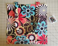 How to Make a Simple Tote Bag - JMB Handmade Easy Tote Bag Pattern Free, Hobo Bag Patterns, Diy Bags Patterns, Tote Pattern, Handbag Patterns, Wallet Pattern, Pattern Fabric, Dress Patterns, Sewing Patterns
