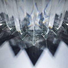 Ray of Light sculpture by Tokujin Yoshioka