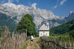 Trekking through the Prokletije Mountains in Montenegro and Albania. Mountain Village, Albania, Montenegro, Alter, Trekking, Mount Everest, Around The Worlds, Hiking, Tours
