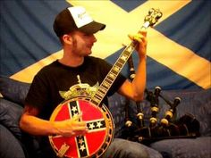 confederate flag banjo head - Google Search