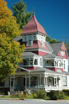 The ornate Richardi House in Bellaire, Mich.
