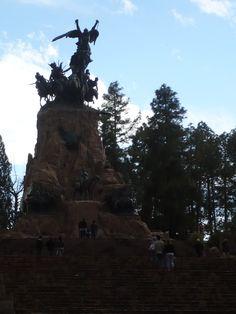 Monumento Gral San Martín, Parque San Martín, Ciudad de Mendoza, provincia de Mendoza, Argentina, noviembre 2011