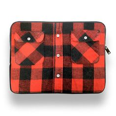 15'' Laptop Sleeve Plaid, 36,90€, now featured on Fab.