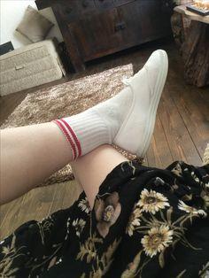 Walk In My Shoes, High Socks, Walking, Fashion, Moda, Thigh High Socks, Fashion Styles, Stockings, Walks