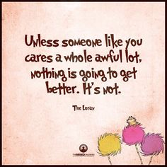 The Lorax quote
