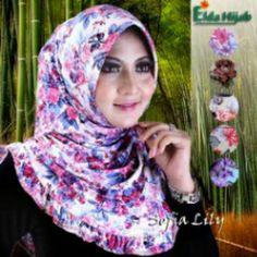 Sofia Lily Ori Elda Hijab Harga 35.000 Minimal Seri Bahan Jersey