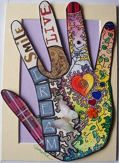 LIFE IN MY HANDS 2 by Yowell Art, via Flickr