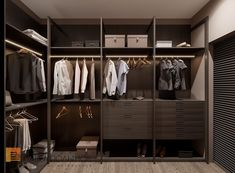Фото гардеробная комната из проекта «Дизайн квартиры в современном стиле, ЖК «Смольный парк», 175 кв.м.»