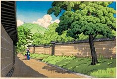 1952 - Hasui, Kawase - Nara - Honolulu Museum of Art