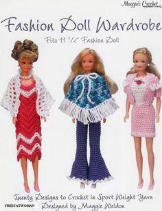 230 Beste Afbeeldingen Van Barbie Crochet Patterns In 2019 Barbie