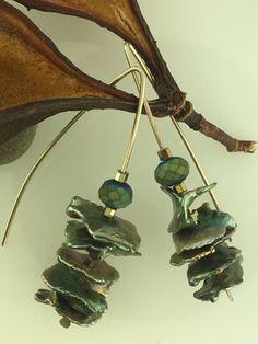 Pearl and Crystal Earrings | Gail Crosman Moore