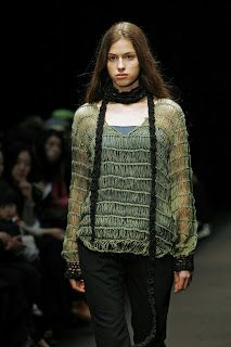 Very nice loose knit sweater and scarf