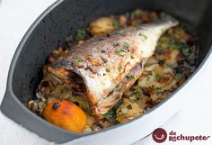 Dorada al horno con patatas - Recetasderechupete.com