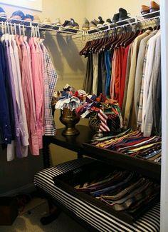 Mr. Goodwill Hunting's closet