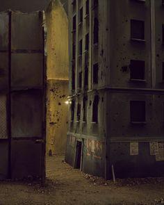Paolo Ventura - War Souvenir (Modena. Ruins of bombed buildings near the station)