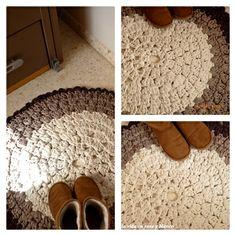 Alfombra crochet XL