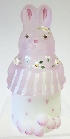 Fenton Glass Easter Bunny