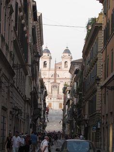 Mis 365 vestidos: Piazza de Popolo