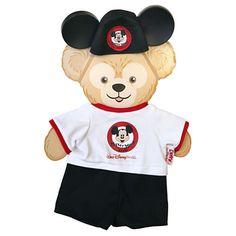 Duffy the Disney Bear Costume - Walt Disney World Mickey Mouse Club  - 17''