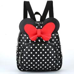 382bb9635f5f Children Bags for girls Kindergarten Children School Bags Cartoon bow tie  Baby Girl School Backpack Cute