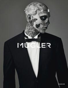 Mugler Mens Fall 2011 Campaign