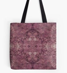 """Tote Bags come in 3 Sizes: Small 13"""" x 13"""", Medium 16"""" x 16"""", Large 18"""" x 18"""" Features: Selected design printed on both sides with 1 inch wide super strong cotton shoulder strap (14 inch length. Soft yet hard wearing 100% spun Polyester Poplin fabric. Draw String bags have a wide, soft drawcord that's easy on your shoulders. Durable quality metal grommets. Long-lasting printed design on both front and back. Pouches and other products also available. Wood Swirls 4 Tote Bag"""