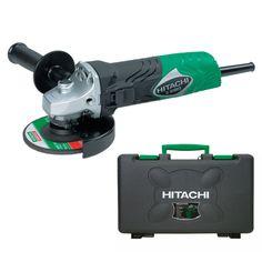 Hitachi Smerigliatrice angolare 730W con disco 115mm e valigetta G12SR3
