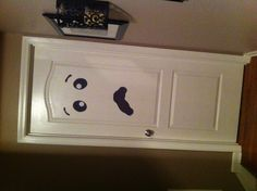 From door to a fun Halloween ghost to decorate your home.