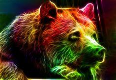 animaux couleurs Fractalius 15 - Tuxboard.