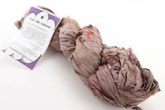 Cocoa Rose Reclaimed Sari Silk Ribbon from DGY