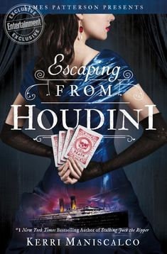 <em>Escaping From Houdini:</em> Preview Kerri Maniscalco's devious new murder mystery