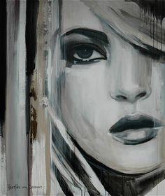 """Saatchi Art Artist Hesther Van Doornum; Painting, """"Daring Spirit - SOLD"""" #art"""