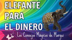 Cómo usar el Elefante para atraer el Dinero ~ Los Consejos Mágicos de Ma... LOS ELEFANTES atraen la buena suerte, larga vida, sabiduría y ayudan a alejar las envidias. Nos enseñan a ser resistentes ante la adversidad y a tener paciencia y resistencia. ✨💕🔮 ¡Disfruta y comparte!!!