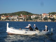 Krapanj gajeta used to be daily workhorse  of local women rowing to their vineyard  in some little island, not always very near...