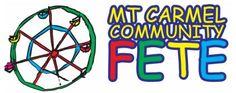 Mt Carmel Fete 2012 Logo